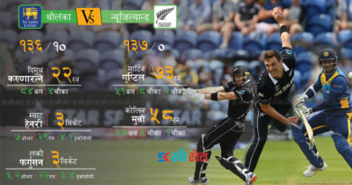 न्युजिल्यान्ड १० विकेटले विजयी (इन्फोग्राफिक्ससहित)